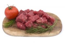 Kosher Cubed Tender Beef Chuck