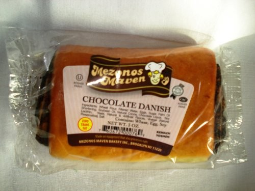 Danish Chocolate Stick 3.oz (12 Pcs/case) Fresh Daily From Mezonos Maven