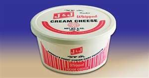 J &amp; J Whipped Cream Cheese 8 oz 