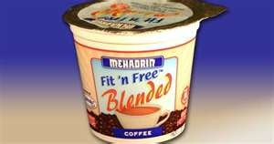 Mehadrin Coffee Fit n Free Blended Yogurt 6 oz 
