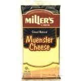 Miller's Good Health Reduced Fat Sliced Muenster Cheese 6 oz