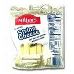 Miller's Sliced Smoked Natural Provolone Cheese 6 oz