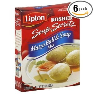 Lipton Soup Secrets Matzo Ball &amp; Soup Mix 4.3 oz