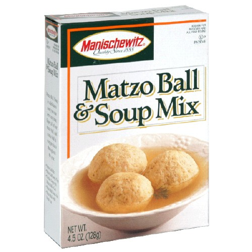 Manischewitz Passover Matzo Ball &amp; Soup Mix 4.5 oz