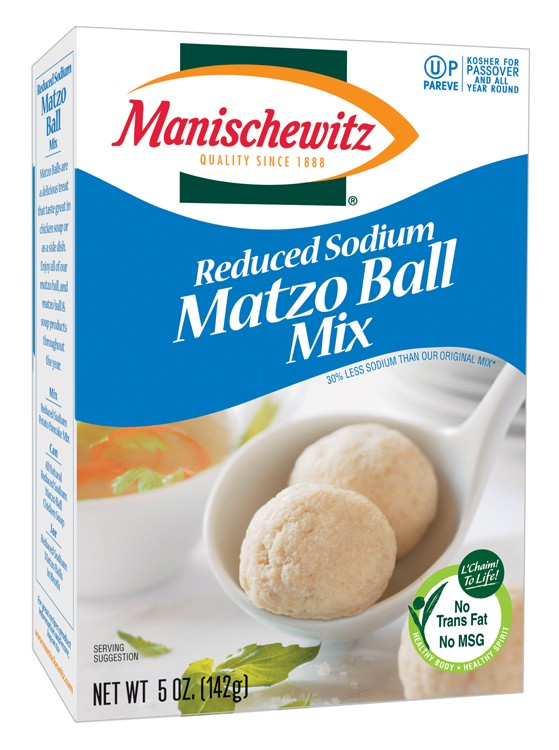 Manischewitz Passover Reduced Sodium Matzo Ball Mix 5 oz