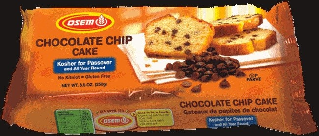 Osem Passover Chocolate Chip Cake 8.8 oz