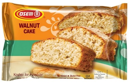 Osem Passover Walnut Cake 8.8 oz