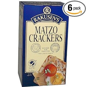 Rakusen s Matzo Crackers 5.29 oz