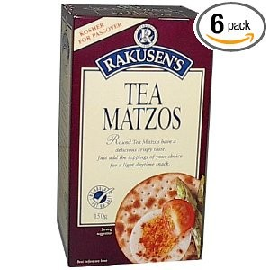 Rakusen s Tea Matzos 5.29 oz