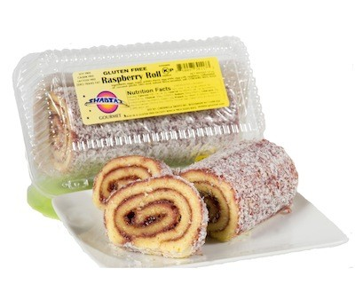 Shabtai Gourmet Gluten Free Raspberry Roll 12 oz