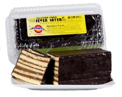 Shabtai Gourmet Gluten Free Seven Layer Cake 16 oz