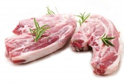 Kosher Shoulder Lamb Chop (Long Bone)