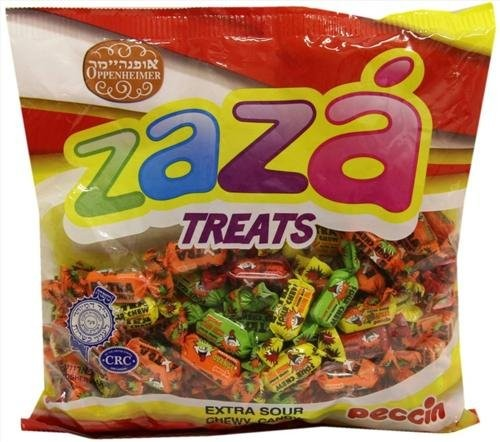 Extra Sour Chewy Kosher Candy (Medium) 2 Packs