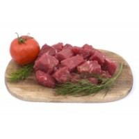Kosher Cubed Tender Beef Chuck