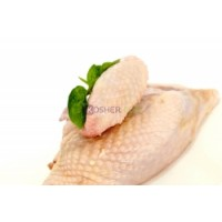 Kosher Chicken Breasts (Top 1/4's)