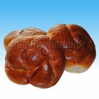 Whole Wheat Challah Rolls - Six Rolls