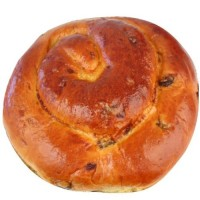 Round Holiday Raisin Challah