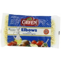 Gefen Cakes, Gefen Elbows Gluten Free, 9-Ounce Units (Pack of 6)