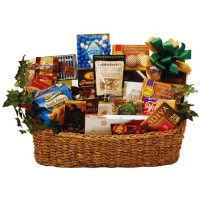 Holidays &amp; Everyday Goody and Gourmet Basket - Premium Deluxe