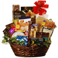 Holidays &amp; Everyday Goody and Gourmet Basket - Deluxe