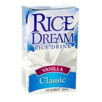 RICE DREAM Rice Drink, Vanilla Classic, 8-Ounce Boxes (Pack of 27)