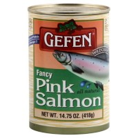 Gefen Fancy Pink Salmon, 14.75-Ounce (Pack of 4)
