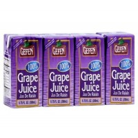 Gefen Grape Juice Drink 4 Pack