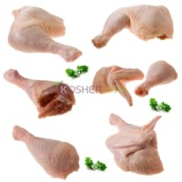Kosher Chicken Broiler in Quarters