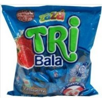 Tribala Chewy Raspberry Flavor Filled Kosher Candy (Pack of 2)