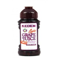 100% Pure Grape Juice, Kosher For Passover and all Year Round, Plastic Bottle, Healthy and Delicious, Refreshing Taste (Concord Grape Juice Low Carb, Half Gallon (64oz))