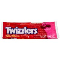 Twizzlers Pull 'n' Peel Candy, Cherry, 14-Ounce Bags (Pack of 6)