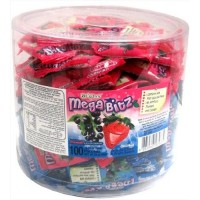 Au'some Kosher Strawberry Blackcurrant Mega Bitz Mix Candy Mini Bags (100 Ct.)
