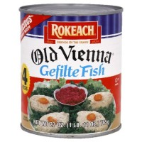 Rokeach Old Vienna Gefilte Fish Jelled, 27-ounces (Pack of 3)