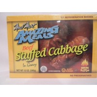 Meal Mart GLATT KOSHER Amazing Meals Stuffed Cabbage Rolls Pack of 2