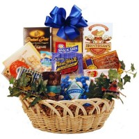 Kosher Holidays & Everyday Goody and Gourmet Basket - Medium
