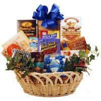 Kosher Holidays & Everyday Goody and Gourmet Basket - Medium