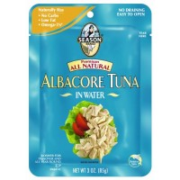 Season Brand, Kosher, Premium All Natural Albacore Tuna in Water (3 Oz.)